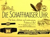 Vintage International Watch Company reclame 1