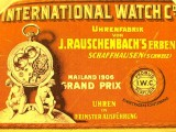 Vintage International Watch Company reclame 3