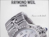 Vintage Raymond Weil reclame