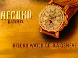 Vintage Record Watch Company reclame
